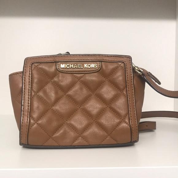 Michael Kors Handbags - Small quilted Michael Kors crossbody